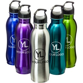 Stainless Steel Grip Bottle (25 Oz.)