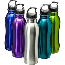 Stainless Steel Grip Bottle (25 Oz.)