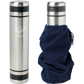 Stainless Steel Orion 3-in-1 Thermos (24 Oz.)