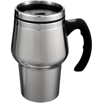 stainless steel stainless steel roadster travel mug 14 oz