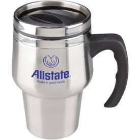 Stainless Steel Roadster Travel Mug for Your Organization
