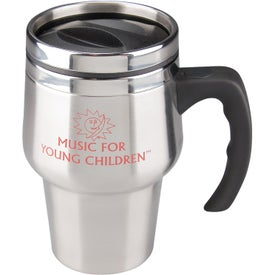Company Stainless Steel Roadster Travel Mug