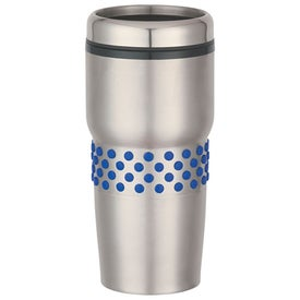 Stainless Steel Tumbler with Dotted Rubber Grip with Your Logo