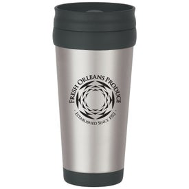 Stainless Steel Tumblers with Slide Action Lid (16 Oz.)