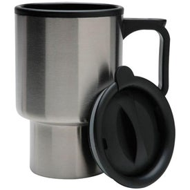 Customizable Stainless Steel Travel Mug Giveaways