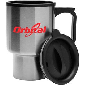 Double Wall Stainless Steel Travel Mug (16 Oz.)