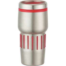 Stainless Steel Tumbler With Rubber Grips for Your Company