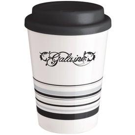 Striped Coffee Cup Tumbler (12 Oz.)