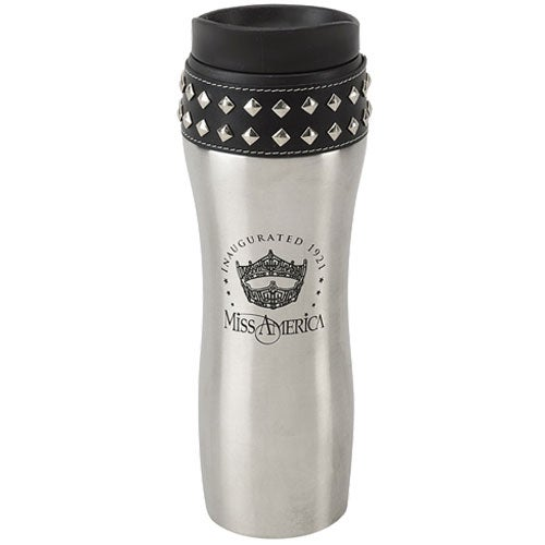 Stud-Ette Stainless Steel Travel Mug