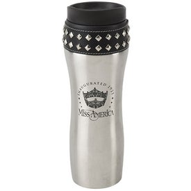 Stud-Ette Stainless Steel Travel Mug (14 Oz.)