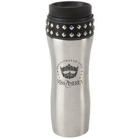 Promotional Stud-Ette Stainless Steel Travel Mug