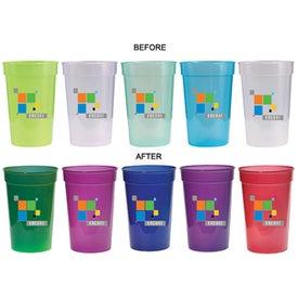 Sun Fun Color Changing Stadium Cup (17 Oz., 2-Sided, Digital Print)