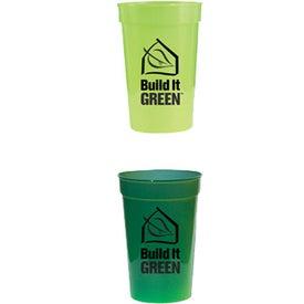 Customized Sun Fun Color Changing Stadium Cup