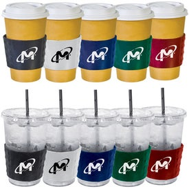 Sure Grip Cup Sleeve Branded with Your Logo