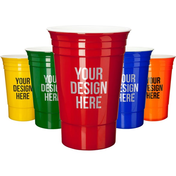 Solo Cup Style Promotional Cup
