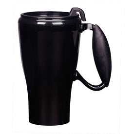 The Hemisphere Travel Mug with Slider Lid for Promotion
