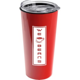 Roadmaster Travel Tumbler with Clear Slide Lid (18 Oz.)