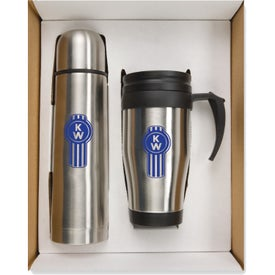 Thermo Bottle Mug Gift Set