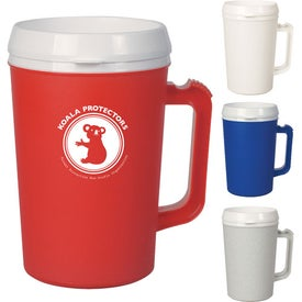 Thermo Insulated Mugs (34 Oz.)
