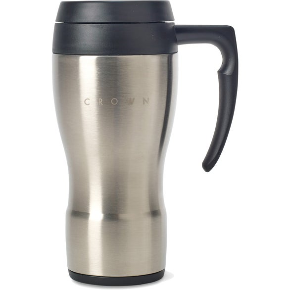 Promotional 16 oz thermos brand thermocafe stainless for Thermos caffe