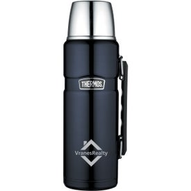THERMOS Brand Stainless King Beverage Bottle (40 Oz.)