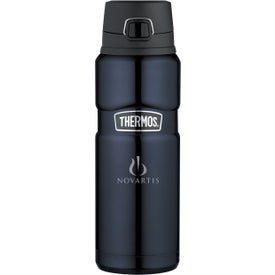 Thermos Stainless King Direct Drink Bottle (24 Oz.)