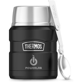 THERMOS Brand Stainless King Food Jar with Spoon (16 Oz.)