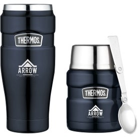 Thermos Stainless King Travel Gift Set (16 Oz.)