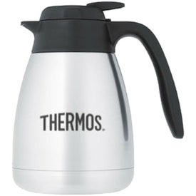 Thermos Brand Stainless Steel Carafe