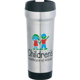 Thumb Press Tumbler Imprinted with Your Logo