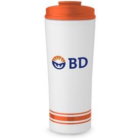 Tira Stripe Travel Mug for Promotion