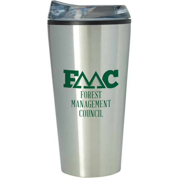 Silver / Clear Tough Tumbler