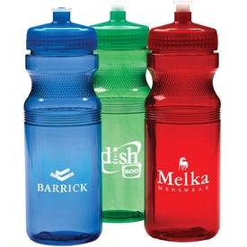 Translucent Bike Bottle (24 Oz.)