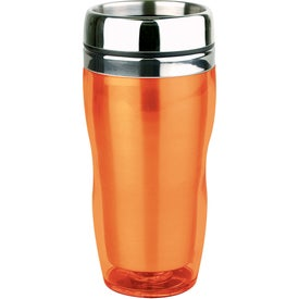 Translucent Curvy Tumbler Printed with Your Logo