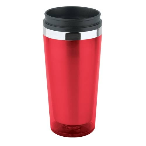 Translucent Double Wall Insulated Tumbler 16 Oz