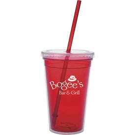 Branded Double Wall Translucent Tumbler