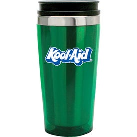 Translucent Tumbler With Stainless Steel Liner Branded with Your Logo