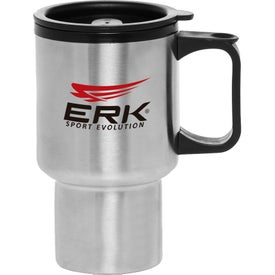 Travel Mug Stainless Steel (14 Oz.)