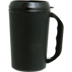 Imprinted Travel Mug with Drink Thru Lid