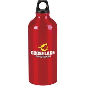 Metal Trek Water Bottle with Your Slogan