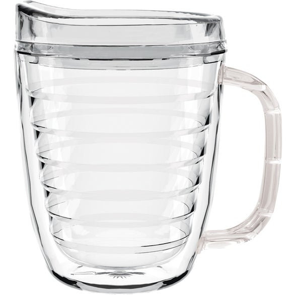 Clear Tritan Coffee Mug with Lid