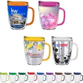 Tritan Coffee Mug with Lid (12 Oz.)
