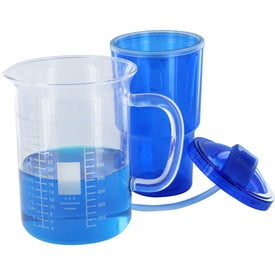 Printed Double Wall Travel Tumbler With Straw