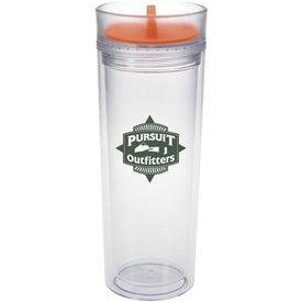Tumbler with Color Twist Lid for Your Company