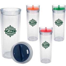Tumbler with Color Twist Lid (16 Oz.)