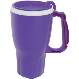 Twister Mug with Matching Lid for Customization