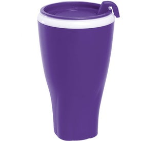 Advertising Twister Tumbler with Matching Lid