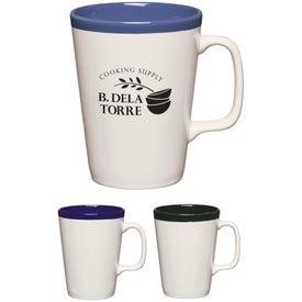 Two Tone Java Mug (14 Oz., Standard Colors)