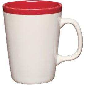 Two Tone Java Mug (14 Oz., Red)