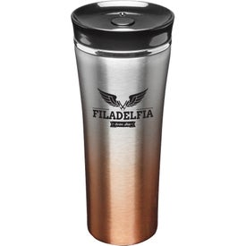 Two Tone Stainless Steel Travel Mug (16 Oz.)